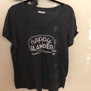 🎒Happy Glamper tee shirt